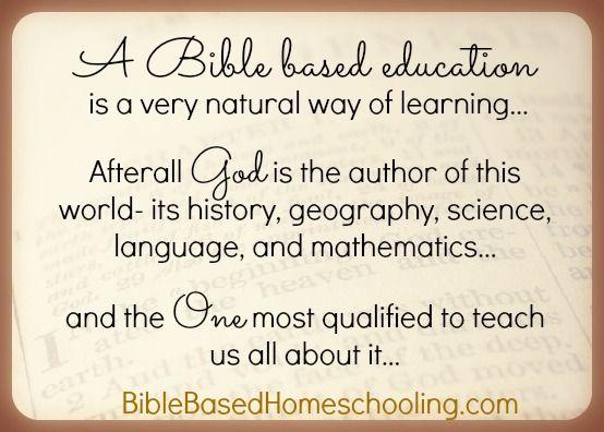 BibleBasedEducation
