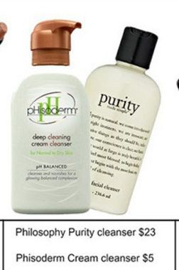 DUPE - Philosophy Purity Cleanser = Phisoderm Cream Cleanser
