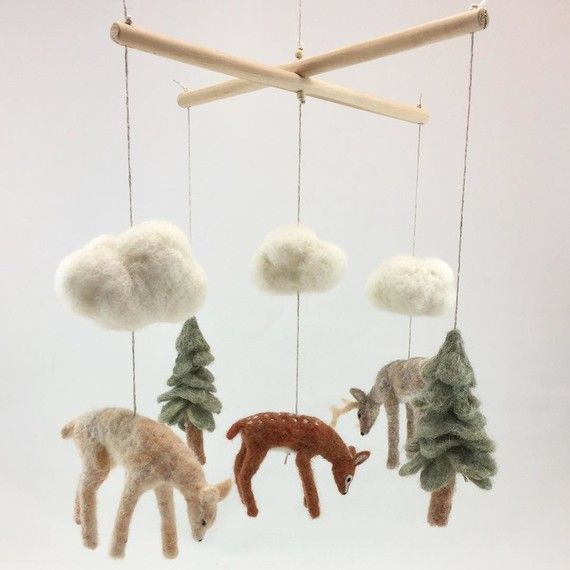 Best Felt Mobile Ideas On Pinterest Felt Nursery Crafts And