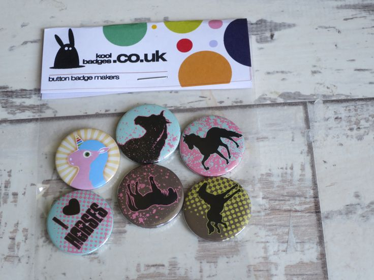 A set of equestrian badges heading out to a very special young lady (our niece)…. – Enamel Pins