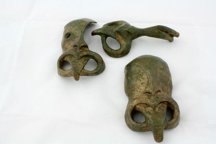 Te Wheku Tuatahi, Tuatoru and Tuaono .. Patinated Silicon Bronze, Jen Waterson, 2014