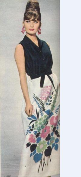 Богемная юбка 70-е