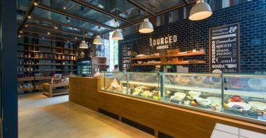 Продовольственный магазин - что это? Место, где оформление не имеет никакого значения или же ещё один повод разгуляться фантазии дизайнера?