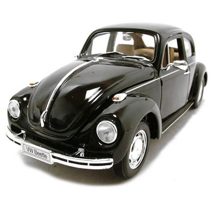 Model Car Volkswagen Beetle Black 1 24 Welly Volkswagen Beetle Car Volkswagen Car Model