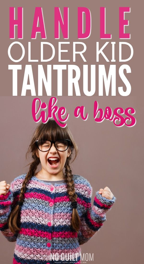Whoa! Everyone talks about toddlers, but how do I handle tantrums in my older child?   If you are done with whining, these tips will help you keep your temper cool!  Great positive parenting advice for moms that also work for three-year olds, preschoolers and elementary school age kids.  via @noguiltmom