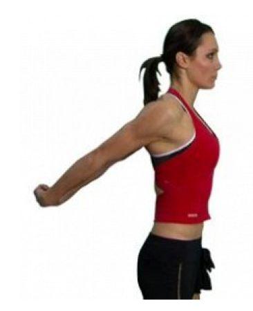 Anterior Shoulder Stretch Fitness Shoulder Impingement