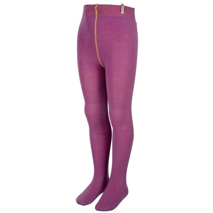 Janus DesignWool Merino Wool Tights: Berry