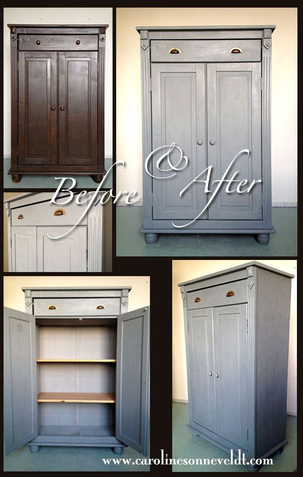 Repainted Furniture: Tres Simple, Nevertheless Fits Every Room In Every  House I Think.