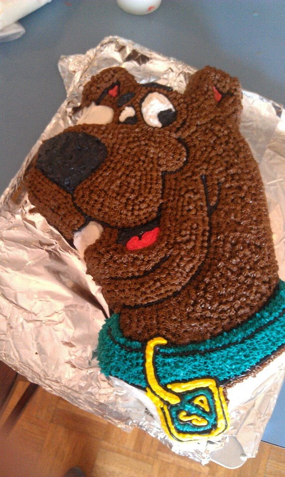 The Scooby Doo Cake I made :)