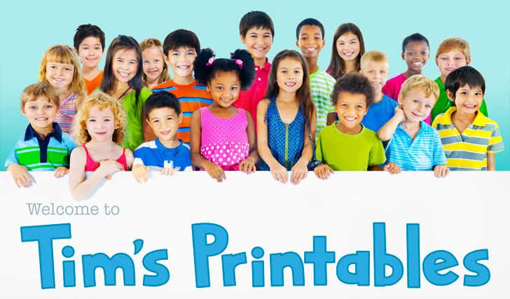 GOTOWE SZABLONY DO DRUKU - You've arrived at Tim's Printables, a website that provides high quality entertaining and educational printables for kids.