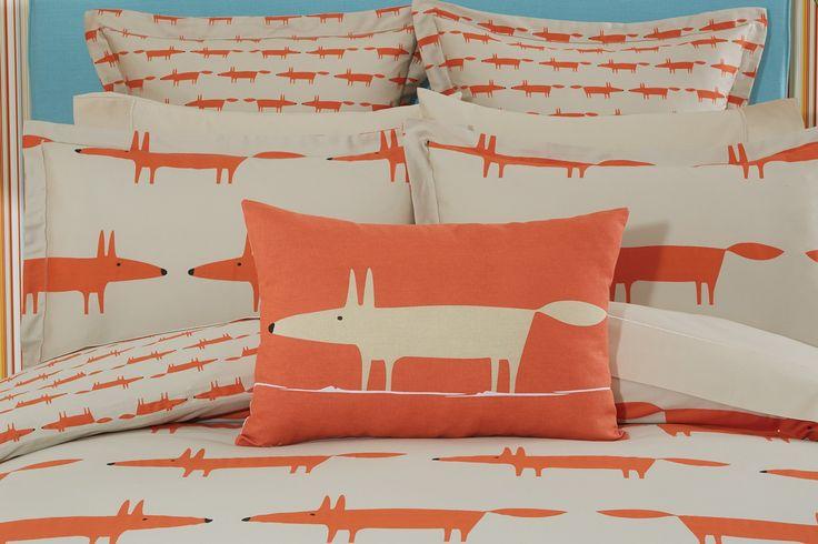 Mr Fox in orange