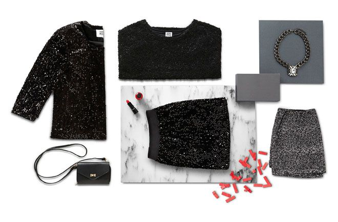 We recommend A LOT of glitter, shimmer and shine to see you through the party period…