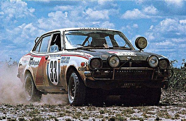 Mitsubishi Lancer GSR 1600 Safari Rally 1975