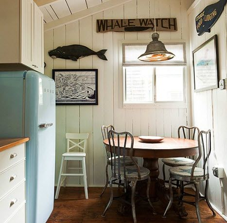 colorful cpttage decofr photos | Cottage Decor Idea with Soft Blue Color / Nautical Cottage Decor ...