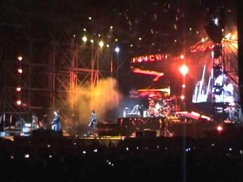 Pierwszy koncert w życiu - Guns N' Roses w Rybniku:)