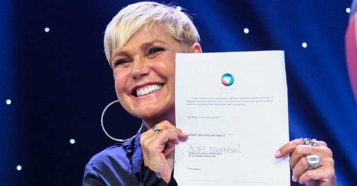 Xuxa chega à Record; veja fotos - BOL Fotos - BOL Fotos