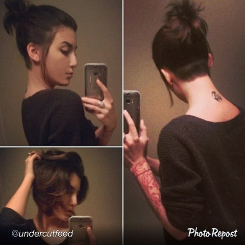 shornnape undercut - Google Search