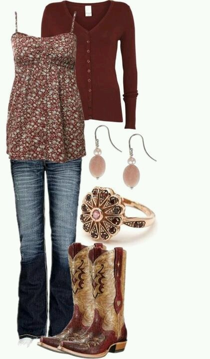 I dont do cowgirl style but this is actually really cute!