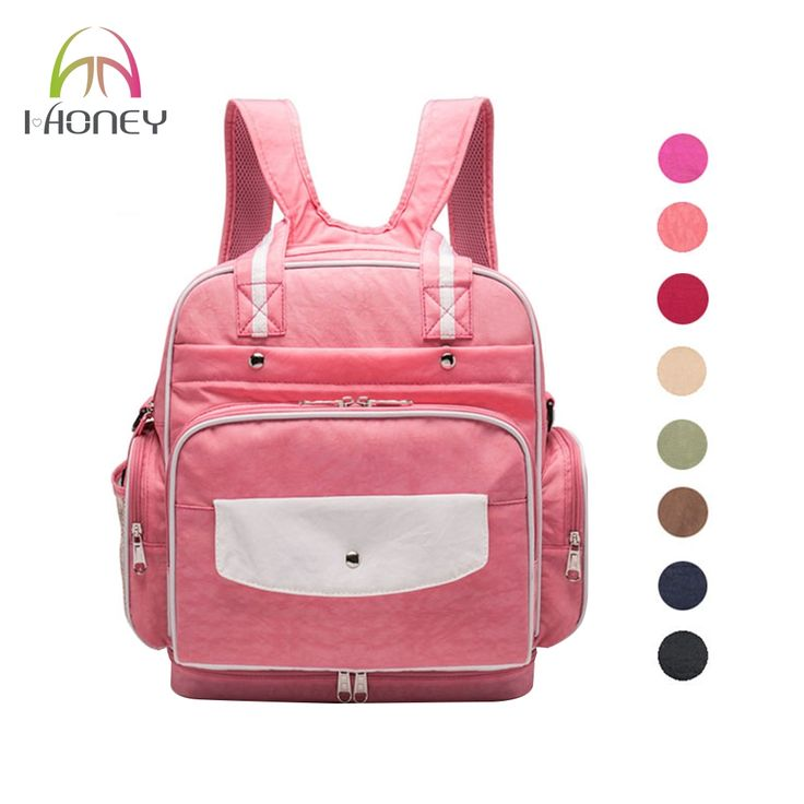 34.28$  Buy here - http://alip1y.shopchina.info/go.php?t=32807500678 - IHONEY4U Diaper Bag Designer Brand Baby Nappy Backpack Large Capacity For Baby Care High Quality Fashion Mother Bag For Stroller  #aliexpressideas