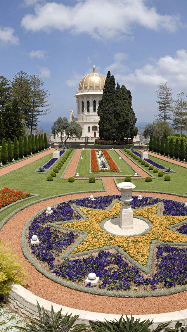Haifa Gardens Israel .... Δεν είναι πως τρέχει ο χρόνος,εμείς γινόμαστε λεπτά,δευτερόλεπτα και τρέχουμε πάνω του για να βγούμε πρώτοι.