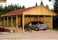 Satteldach-Doppel-CarportSatteldach Doppel Carport, Outdoor Ideas, Shops Kaufen, Backyards Ideas, Online Shops, Quell Shops, Carport Und