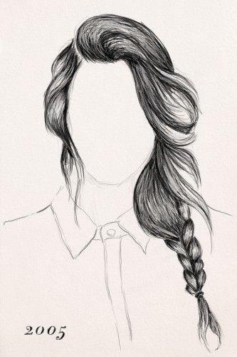 Excellent 1000 Images About Hair Styles Drawings On Pinterest Rapunzel Short Hairstyles For Black Women Fulllsitofus