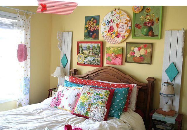 Colorful Vintage Country Bedroom Ooooh Amp Ahhhh