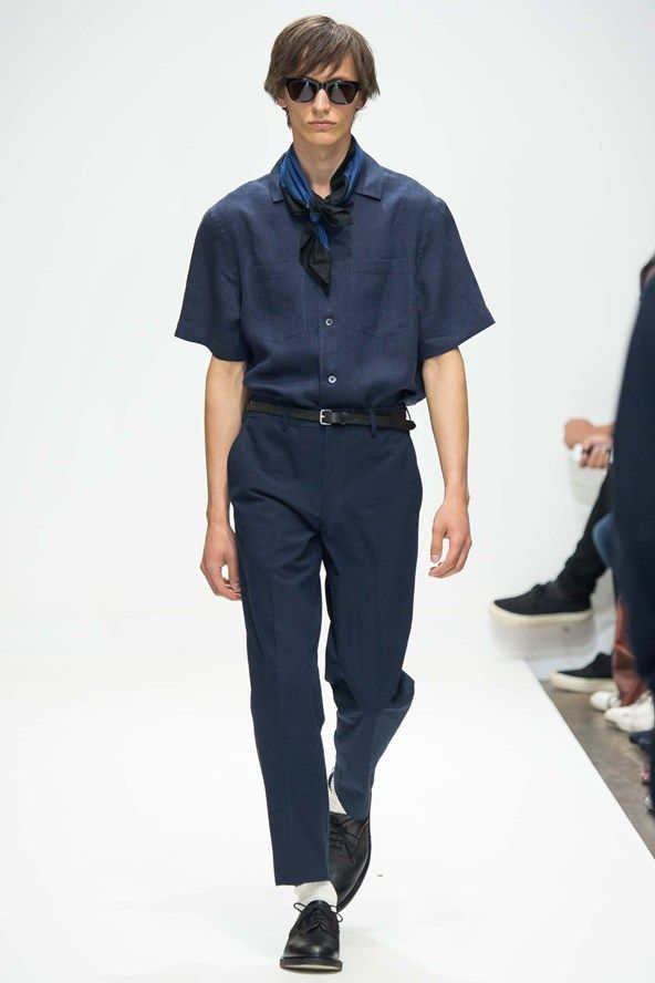 See the Margaret Howell spring/summer 2016 menswear collection. Click through for full gallery