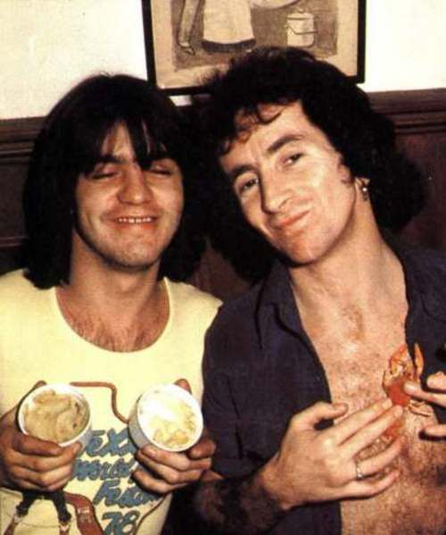281 best images about acdcgtold school rip bon scott