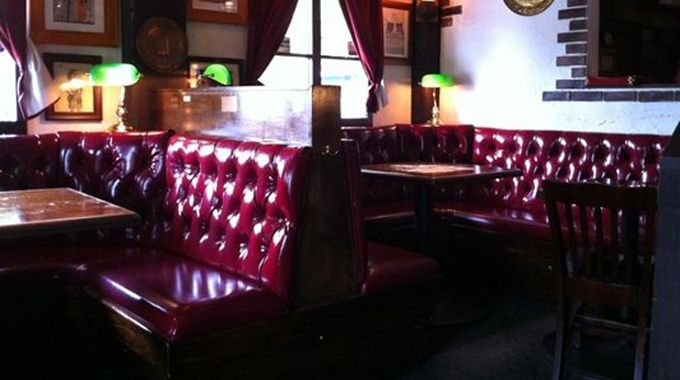 Don't let Red Lion Pub's red pleather-upholstered booths and faux Tudor timbers fool you. This isn't just another fake British pub. This is an authentically fake British pub. Order up a hearty ale to go with your curry and prepare to into a world of pleasure — or sleep (Houston, TX)
