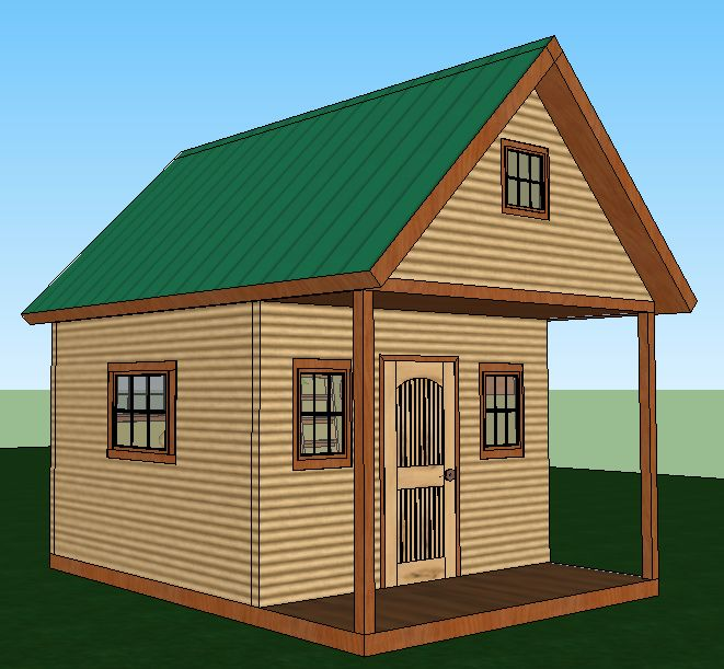 Build a solar powered cabin that sleeps six for 2000 plus for Solar powered home designs