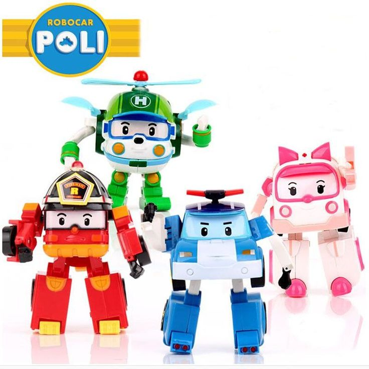 4pcs/Set Robocar Poli Toy Korea Robot Car Transformation Toys Poli Robocar Toys Without Box Best Gifts For Kids for $53.94 Gender: UnisexCommodity Attribute: Finished GoodsBrand Name: honeypurAge Range: > 3 years oldSize: MScale: 1/60Item Type: ModelSoldier Accessories: Soldier Finished ProductCondition: In-Stock ItemsDimensions: 10cmMaterial: PlasticVersion Type: First EditionTheme: Movie & TVRemote Control: NoModel Number: PLCompletion Degree: Finished GoodsBy Animation Source: South…