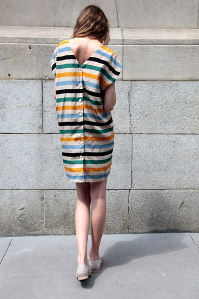 http://www.no6store.com/blog/2011/05/24/no-6-striped-button-back-dress/ No. 6 Dress