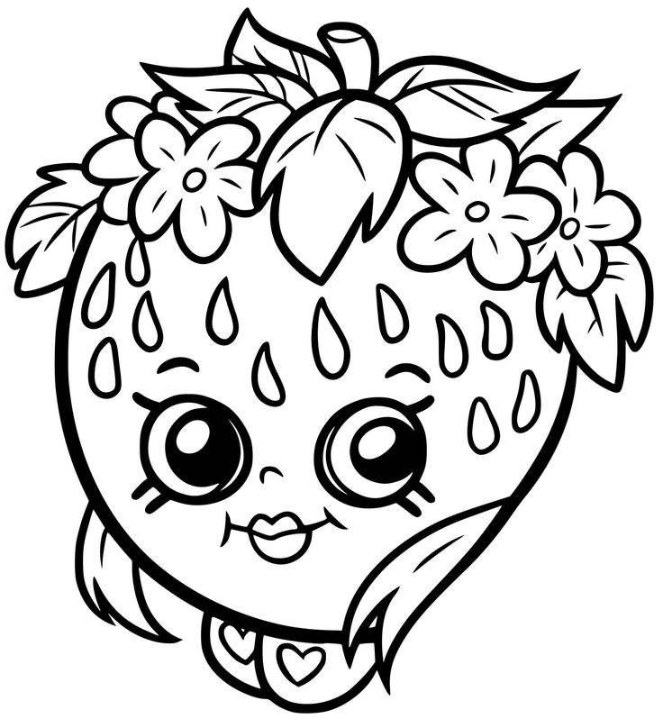 53 best Shopkins Coloring Pages images on Pinterest ...