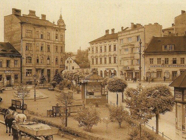 Plac Żwirki i Wigury kiedyś
