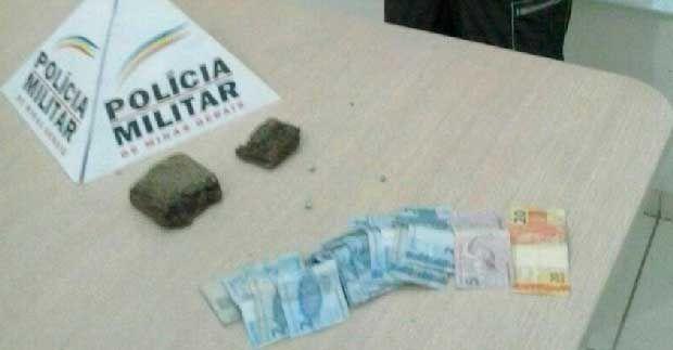 Polícia prende suspeito de tráfico de drogas em Santana do Paraíso MG