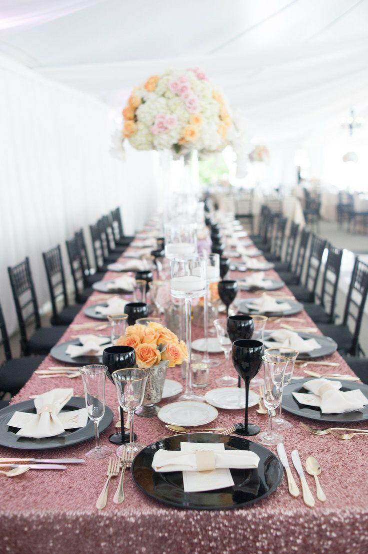 Dazzling Wedding Reception Decor