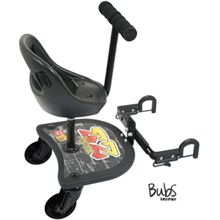 VALCO VEE BEE EZ RIDER TODDLER SEAT BOARD. Fits snap duo.  VALCO VEE BEE EZ RIDER TODDLER SEAT BOARD  Universal Accessories Code: 26905 The Valco Vee Bee EZ Rider provides an ideal solution to a 'growing problem', the EZ rider adds an additional seat your pram or stroller. .
