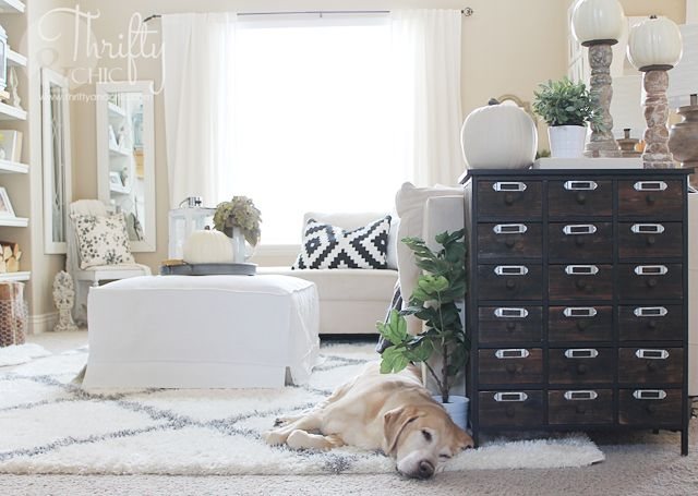 Fall Home Tour 2015 Thrifty And Chic Diy Projects And Home Decor