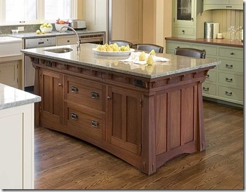Arts Crafts Crown Point Cabinetry