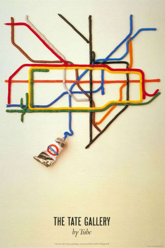 The Tate Gallery by tube by David Booth