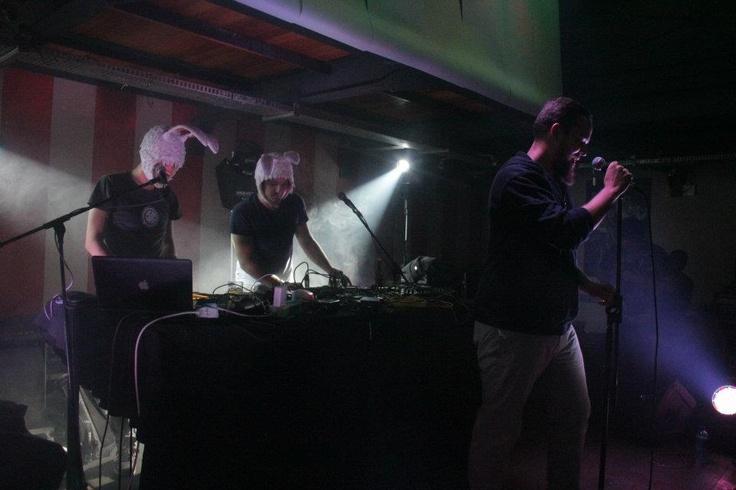 Bittereinder on stage @ Arcade Empire