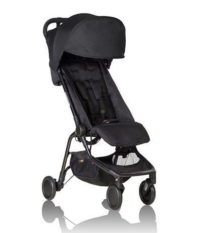 Mountain Buggy Nano Travel Stroller - Black