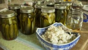 Pickled Cucumbers and Onions - Vivian Howard