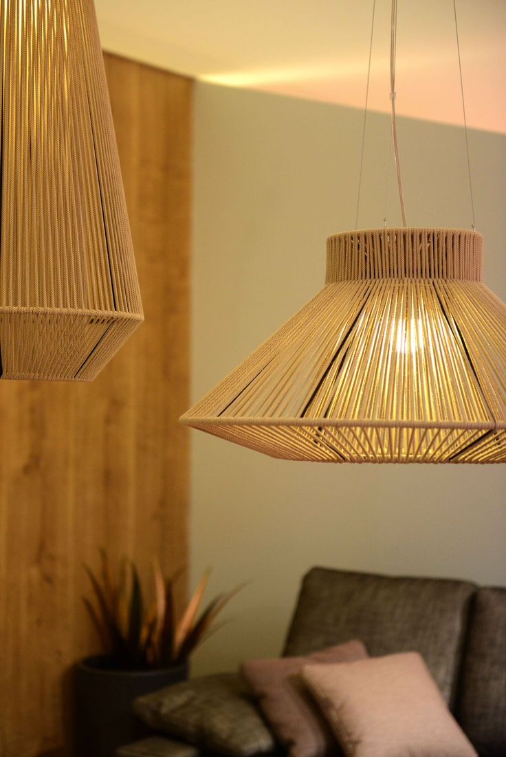 Zaragoza Feria del Mueble #koord #lamp #hanging #eltorrent #rope #showroom #lighting #design