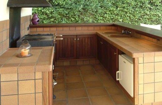 87 best cocina exterior images on pinterest kitchens - Cocina exterior ...