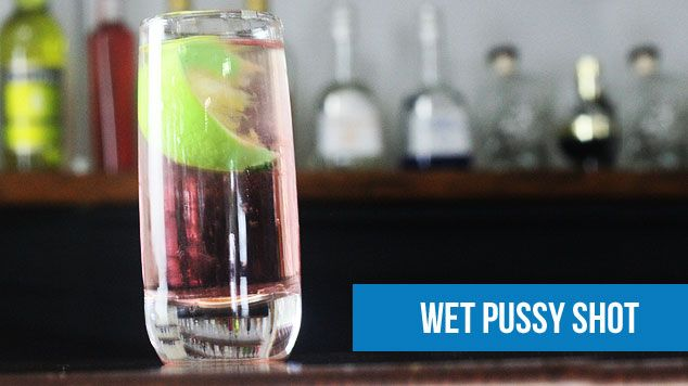 Wet Pussy Alcohol Shot 16