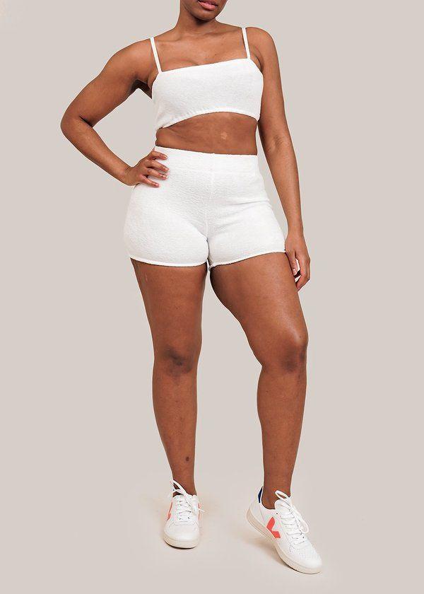 Garment District, Slow Fashion, Fashion Brands, White Shorts, Organic Cotton, Winter Fashion, How To Wear, Clothes, Style