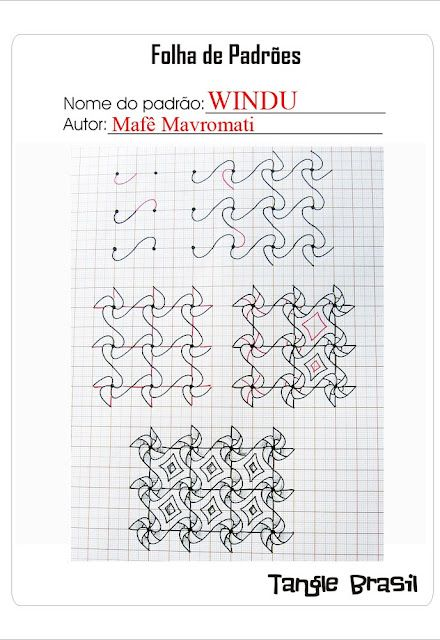 how to draw a pattern from instructions