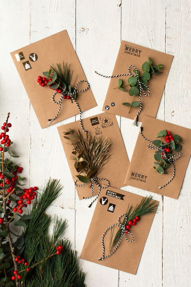 Kerstkaart; van kerstfoto maken tot knutselen met peuters